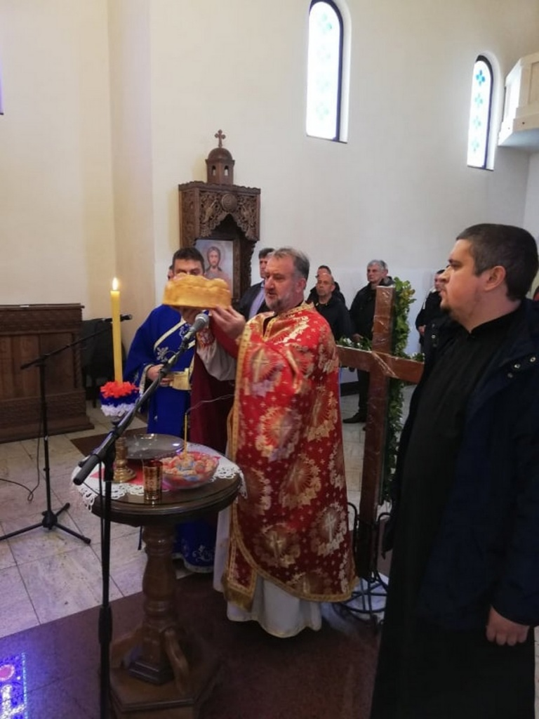 Свети Владика Николај Жички и Лелићки, слава ПНХЗ  при Храму Светог Георгија