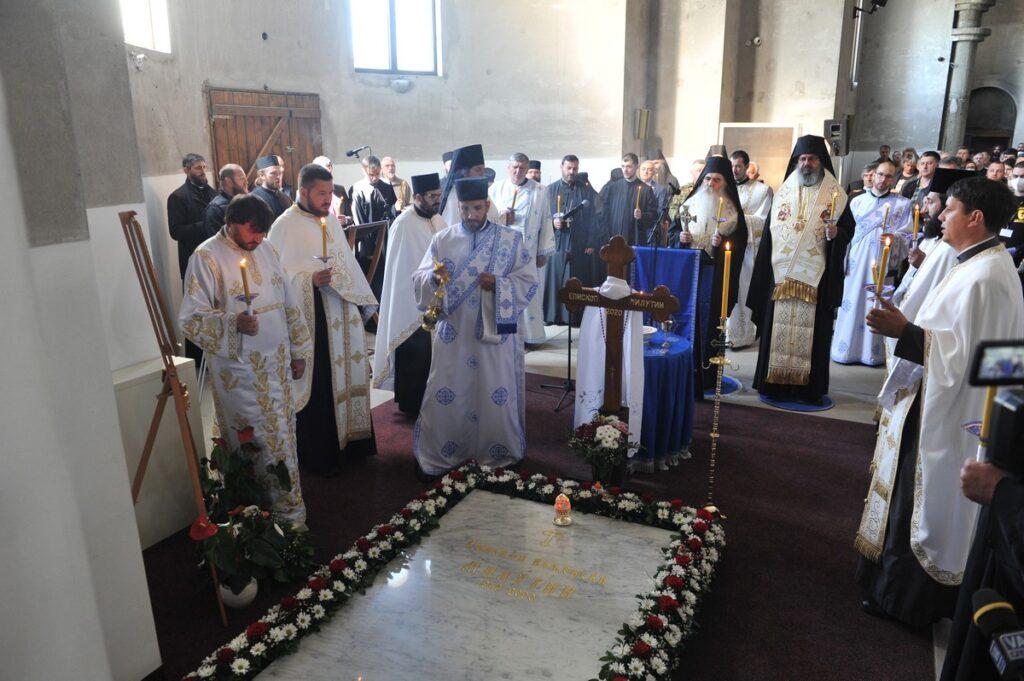 Заупокојена Литургија и четрдесетодневни парастос блаженоуснулом Епископу ваљевском Г. Милутину
