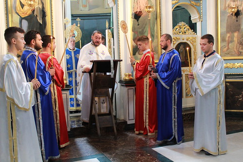 Преносимо: Видовдан у цркви Силаска Светог Духа на апостоле у Обреновцу