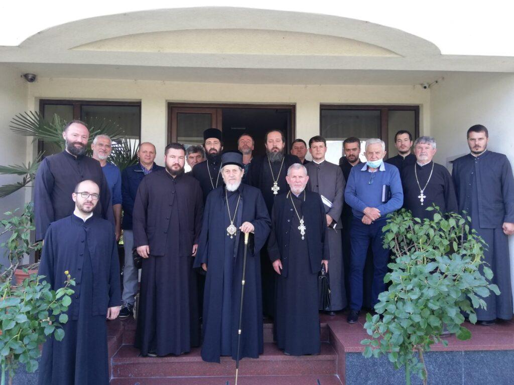 Епископ Лаврентије на ванредној седници ЕУО Епархије ваљевске