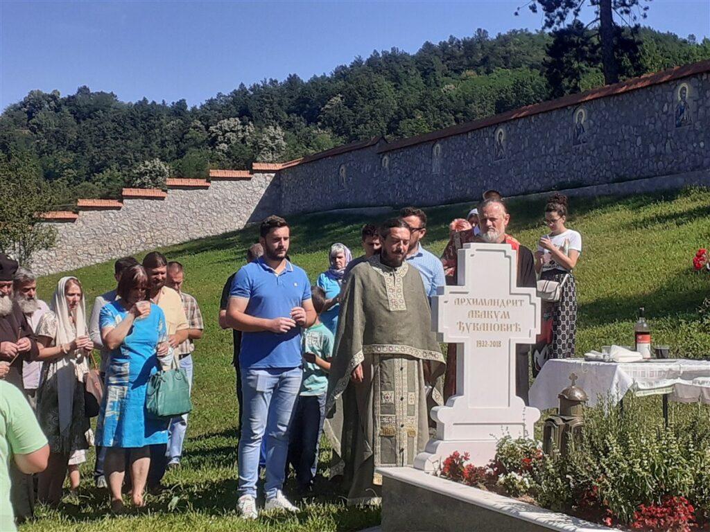 У манастиру Лелић прослављен Илиндан и служен парастос архимандриту Антонију
