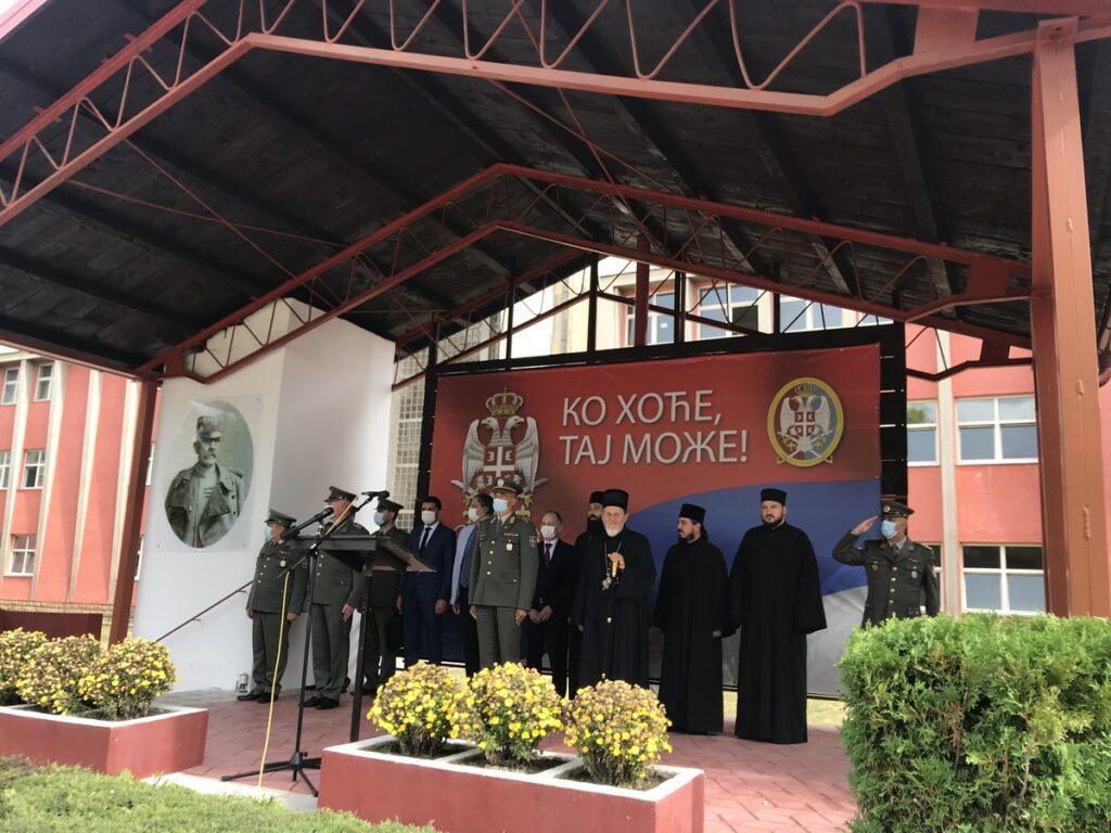 Владика Лаврентије на заклетви септембарске класе