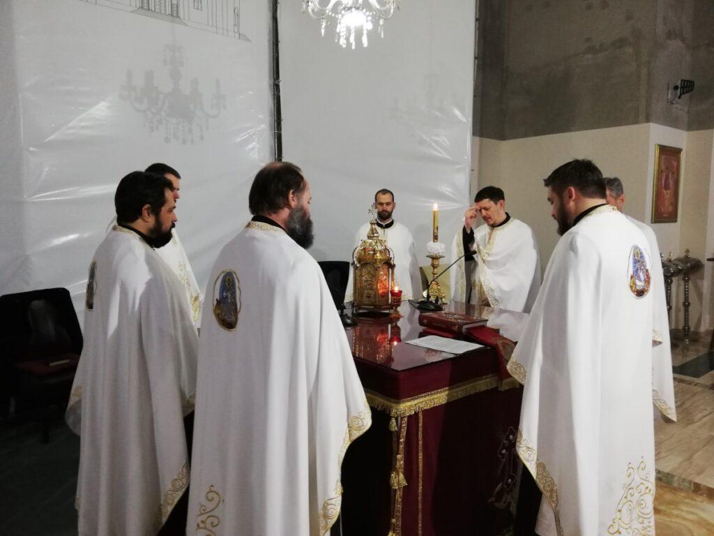 Молебан за успешан рад Сабора СПЦ у саборном храму у Ваљеву