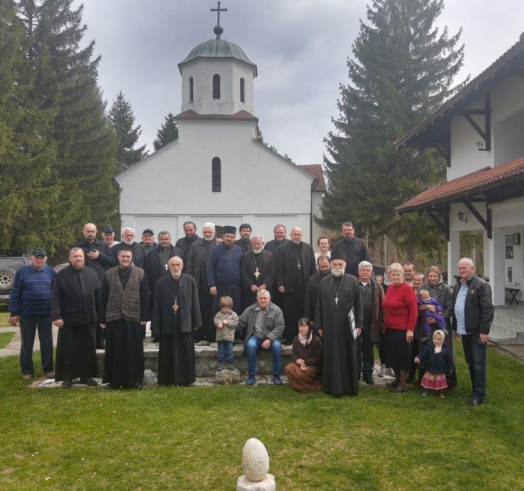 Исповест свештенства Архијерејског намесништва подгорског