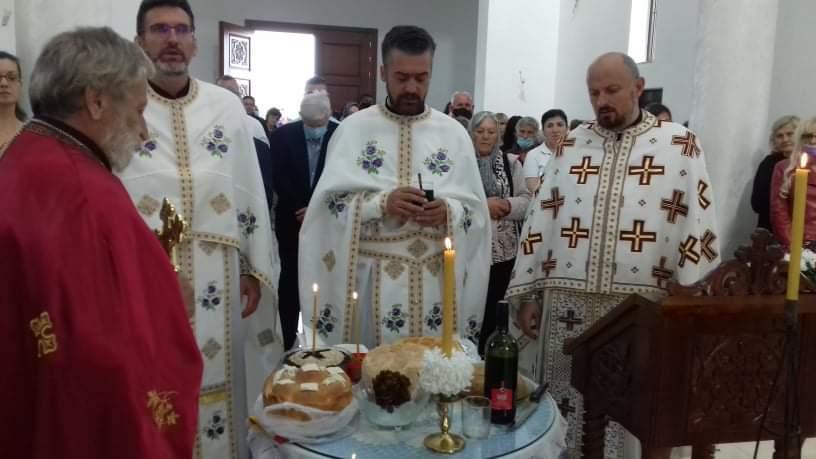Прослава Светог Василија Острошког у Скели