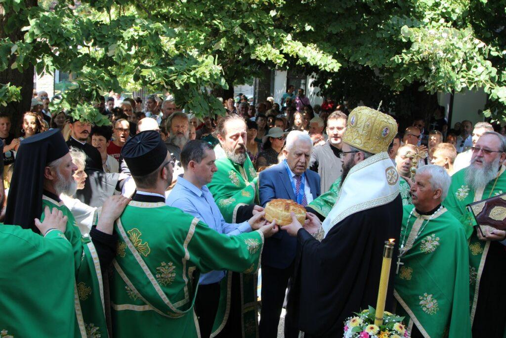 Традиционалне Светотројичне свечаности у Обреновцу