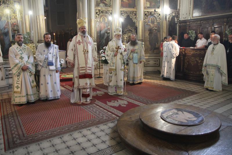 Празник Свете Педесетнице у Саборном храму у Новом Саду