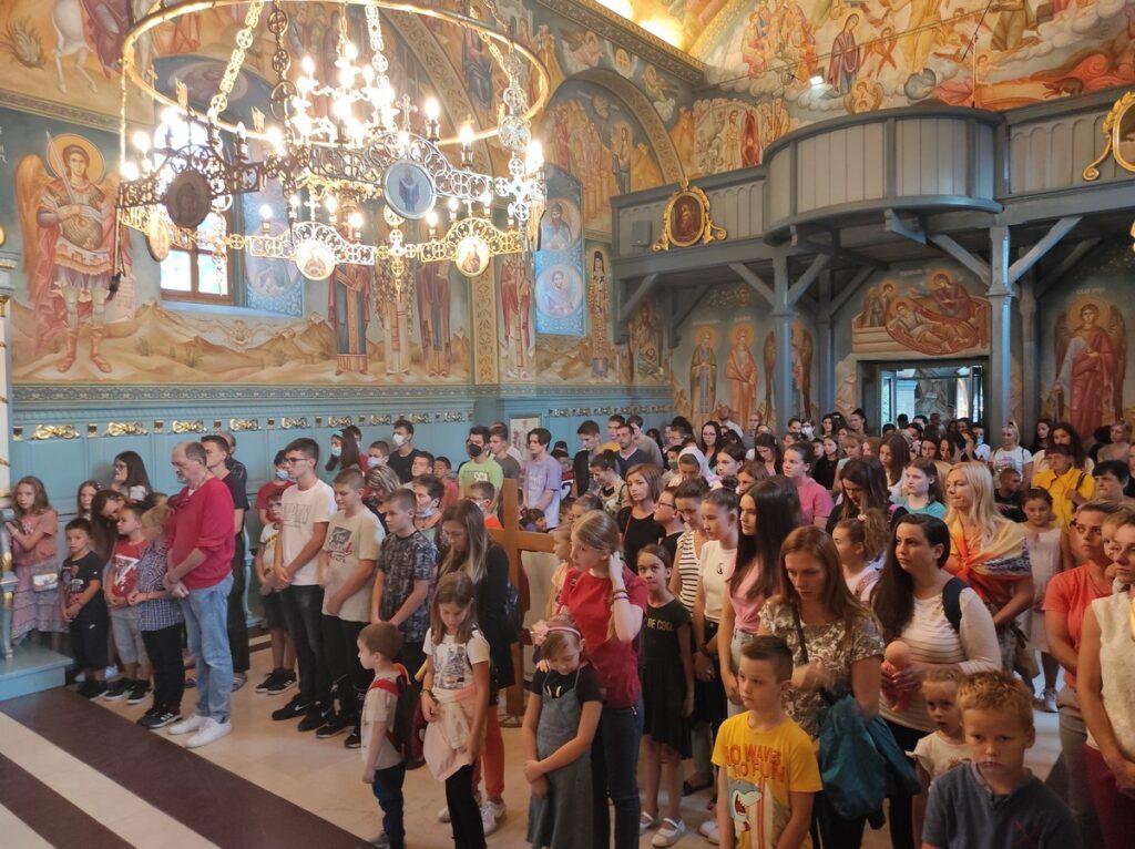 Молебан за почетак школске године у Покровској цркви